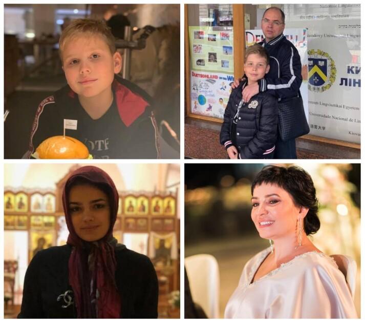 Семья главы Минздрава: сын Михаил, дочь Анна и жена Наталья