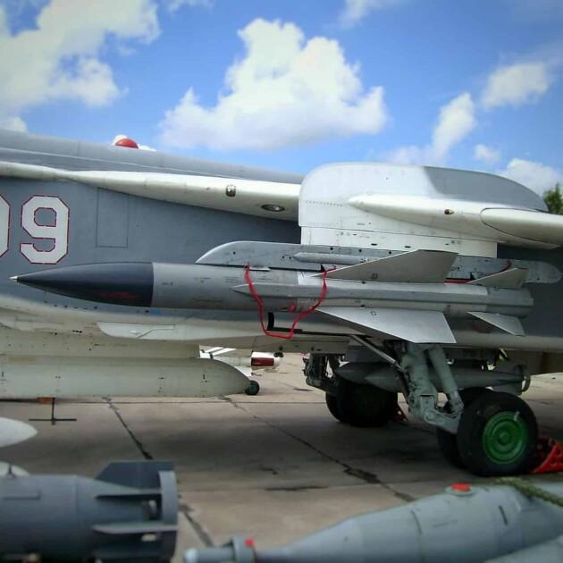 Противолокационная ракета Х-58В / Фото из открытых источников