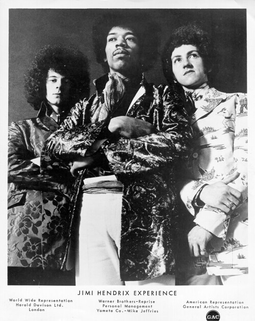 Джимі Хендрікс і The Jimi Hendrix Experience/Getty Images