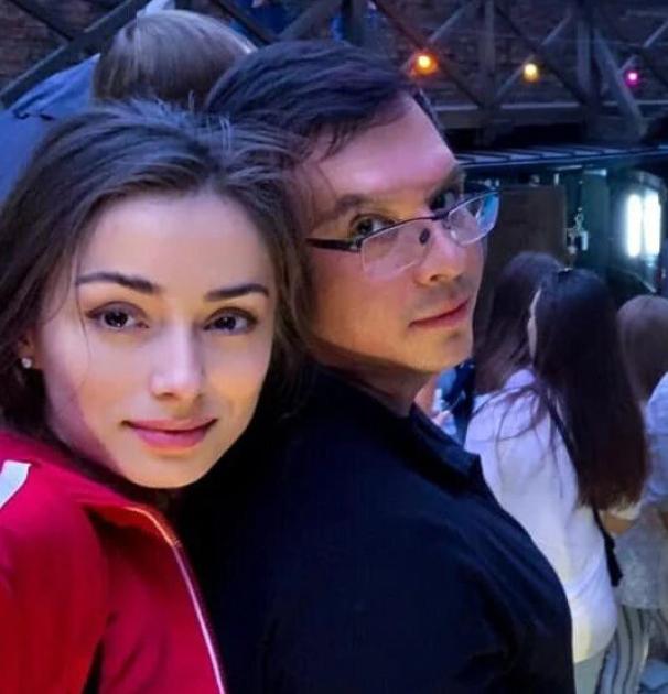 Євгеній Мураєв з Катериною Гордієнко