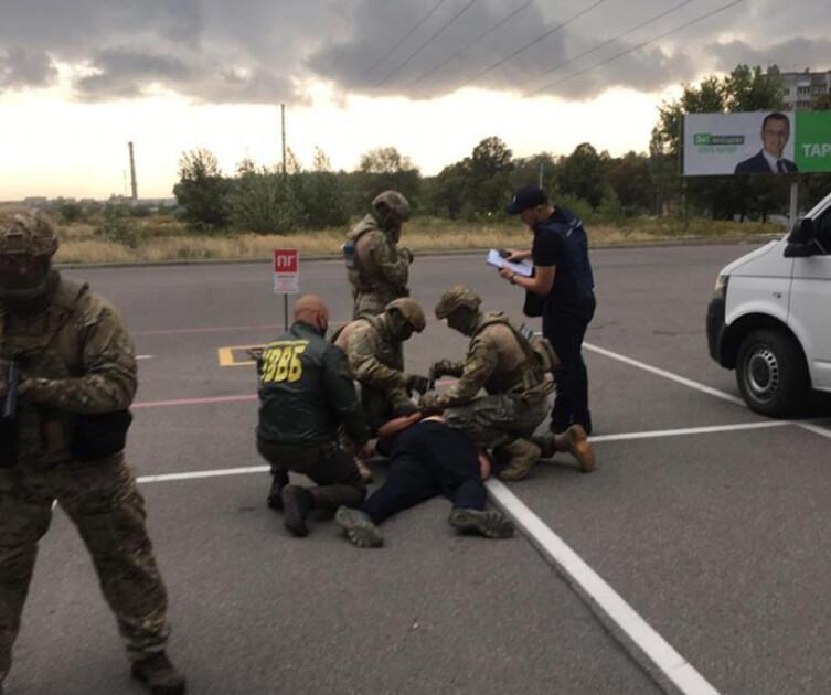 Затримання на кордоні