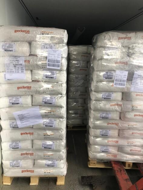 Водитель грузовика из Нидерландов виз почти 20,5 тонны какао