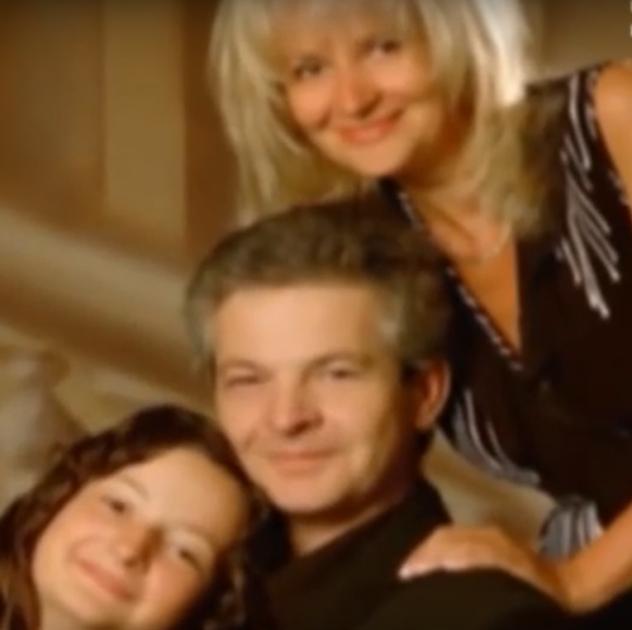 Ірина Фаріон з чоловіком Остапом Семчишиним і донькою