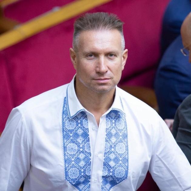 Генадій Вацак в залі Верховної Ради