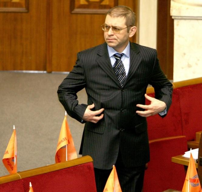 Сергей Пашинский в сессионном зале Верховной Рады Украины, 2007 г.
