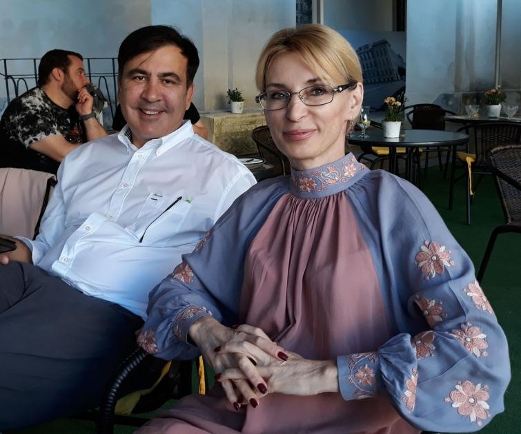 Елизавета Богуцкая и Саакашвили
