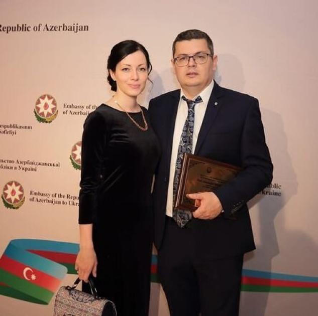 Александр Мережко с женой Викторией
