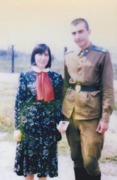 Михайло Саакашвілі в рядах Радянської армії/facebook.com