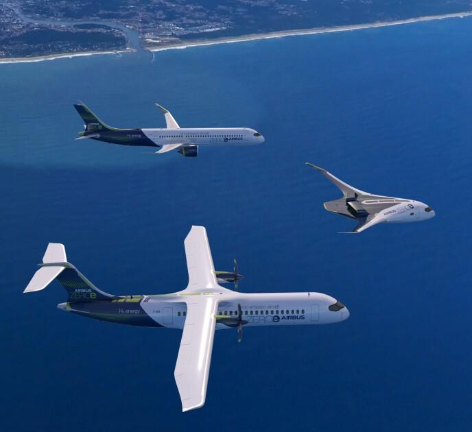 Літаки Airbus проекту ZEROe/zip.news