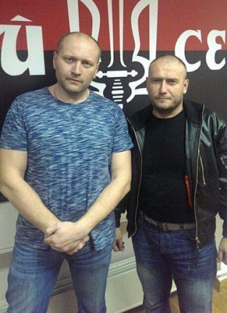 Борислав Береза та Дмитро Ярош