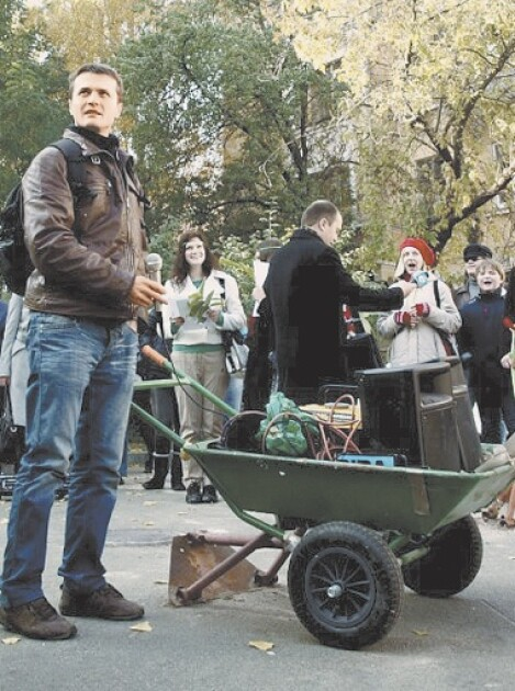 Луценко в организации сохрани киев