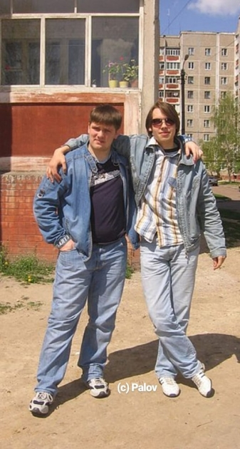 Алексей Гончарук (справа) и Алексей Павловский/facebook.com/pavlovskiyad