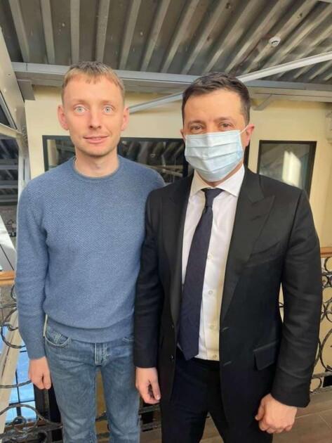 Кацуба і Володимир Зеленський