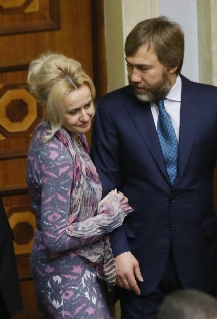 Народні депутати Ірина Фаріон та Вадим Новинський
