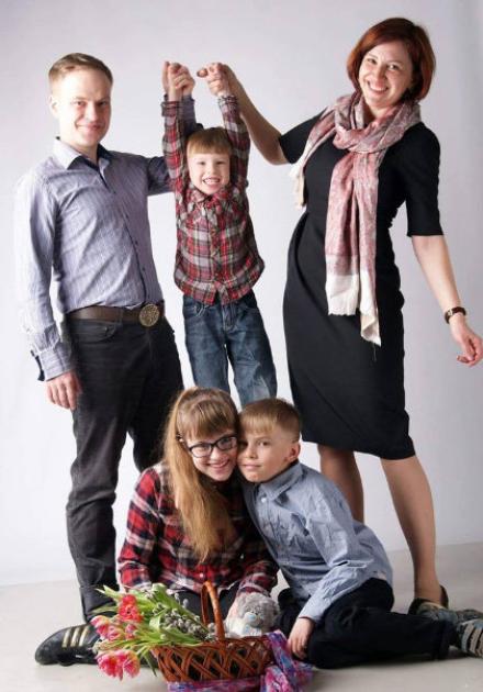 Ярослав Юрчишин із родиною