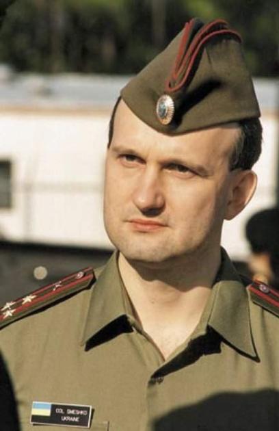 Полковник Игорь Смешко в заграничной командировке