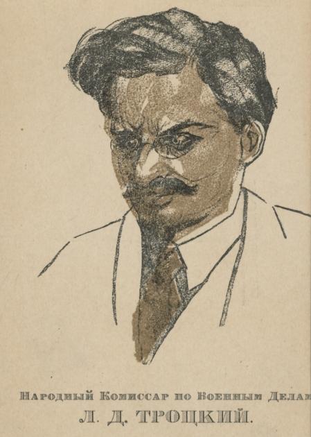 Лев Троцький у 1920 році