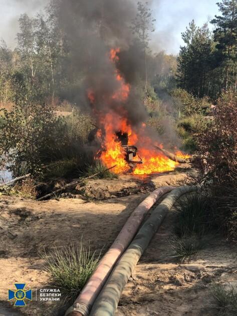 Пожежа у лісі