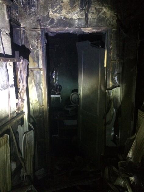 Пожежа у гуртожитку в Харкові