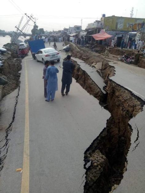 У постраждалих районах провінції оголошено надзвичайний стан.