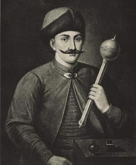 Портрет гетмана украинского казачества Ивана Выговского