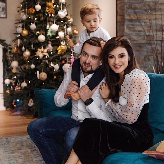 Кирило Тимошенко з сім'єю