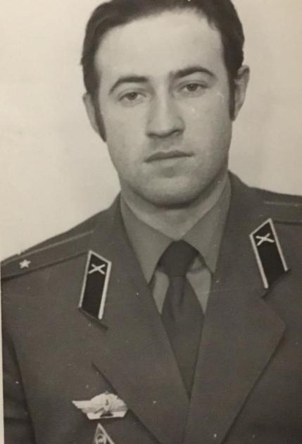 Офицер-артиллерист Виктор Чумак